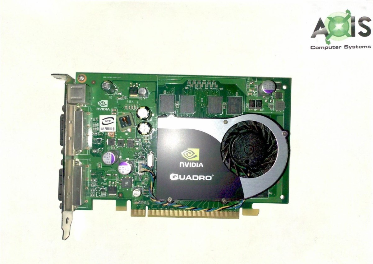 Dell 0RN034 Quadro FX 1700 512MB Carte Graphique PCI e