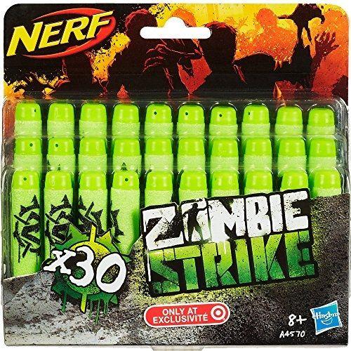 Nerf A4570E240 Jeu De Plein Air Zombie Strike Recharges