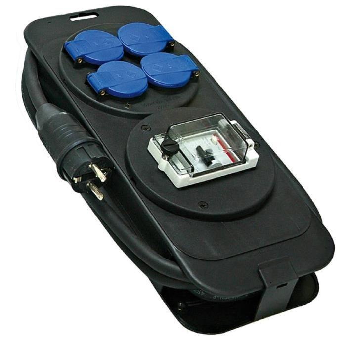 BRENNENSTUHL Console multiprise avec différentiel 30mA 5m Achat
