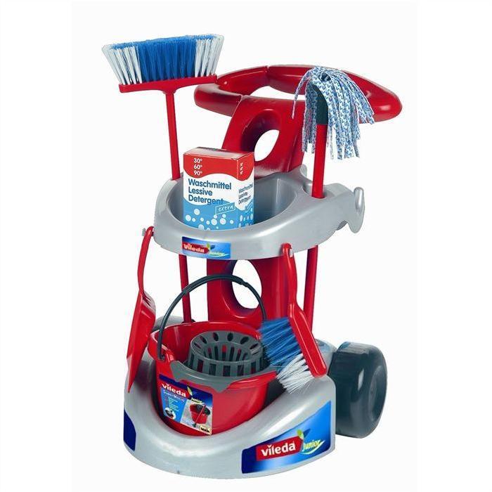 VILEDA Chariot de ménage avec accessoires Achat / Vente maison