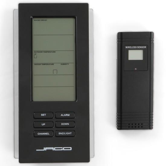 Station météo thermomètre avec capteur sans fil baromètre