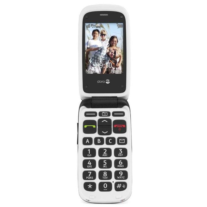 DORO 612 Blanc téléphone portable, prix pas cher