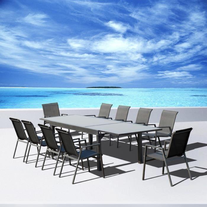de jardin aluminium Vegas Achat / Vente salon de jardin Salon de