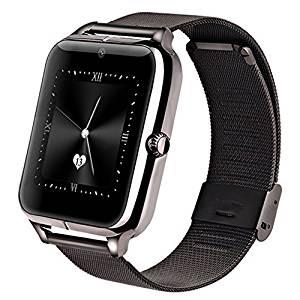 GreatCool Métallique Bluetooth 4.0 Montre Intelligente smartwatch