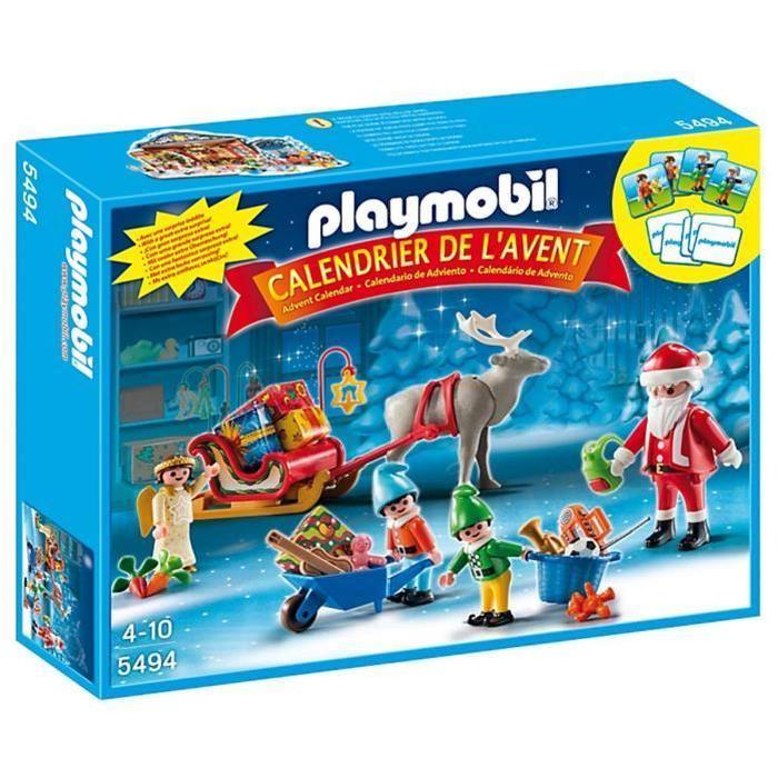 PLAYMOBIL 5494 Calendrier Avent Père Noël Achat / Vente calendrier