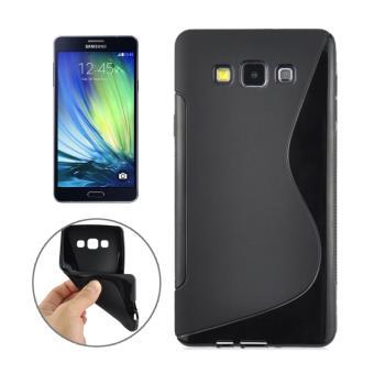 Coque S line en TPU pour Samsung Galaxy A3 Noir Achat au meilleur