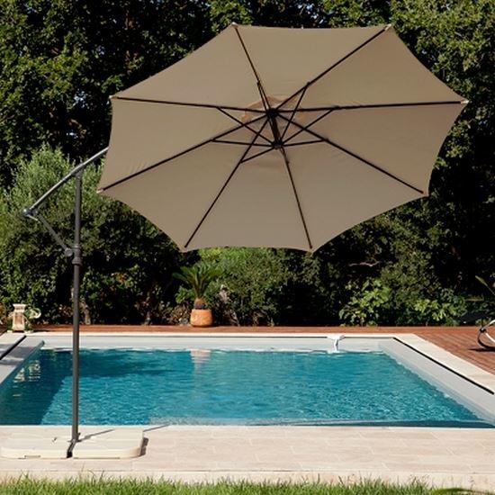 Parasol Deporte Mât inclinable et Ombrelle en t? Achat / Vente