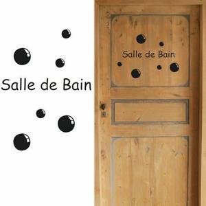 muraux salle de bain Achat / Vente Stickers muraux salle de bain