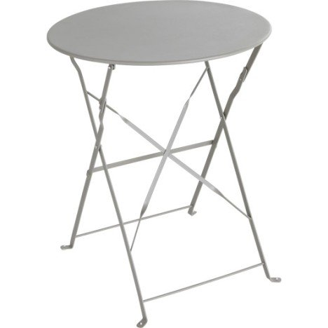Table de jardin pliante ronde - TopiWall