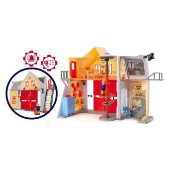 Smoby Sam le Pompier Caserne de Pompiers pas cher Achat / Vente