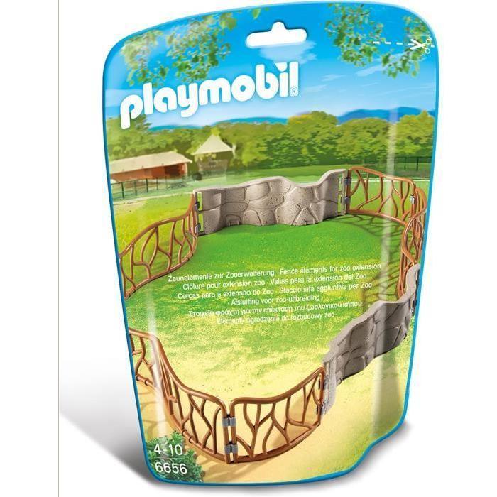 PLAYMOBIL 6656 Enclos pour animaux du zoo Achat / Vente univers