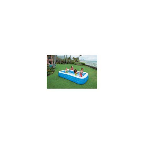 Intex Piscine gonflable rectangulaire pour enfant 305x183x56cm Swim