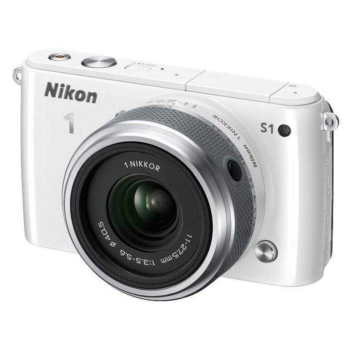 NIKON S1 Hybride Blanc + 11 27,5 mm Achat / Vente appareil photo
