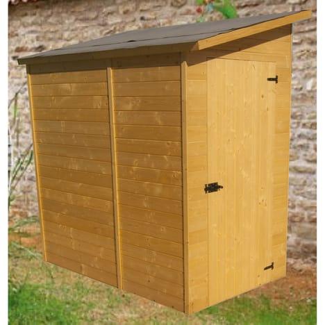 Abri en bois topiwall - Petit abri de jardin pas cher ...