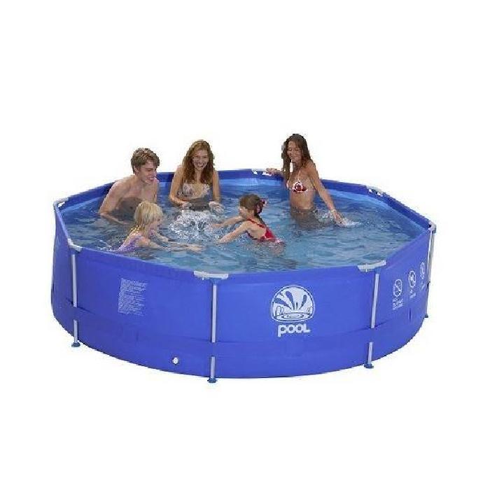 Piscine Tubulaire Ronde 360 x 76 cm Achat / Vente piscine Piscine