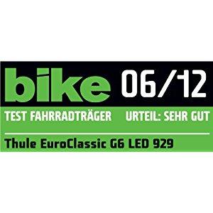 Thule Euroclassic G6 929 Porte vélo attache remorque pour