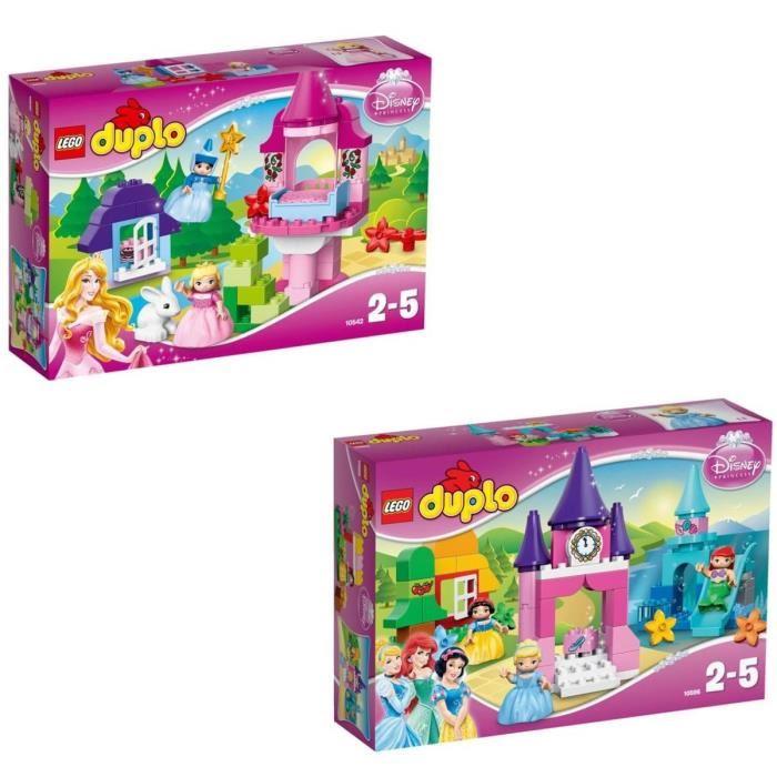 LEGO Duplo Disney Princesses comprenant : 10542 La Belle au Bois