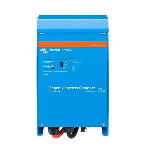 Victron Convertisseur 220V 1600 Va 12V 1300 Watts, Pur Sinus Compact