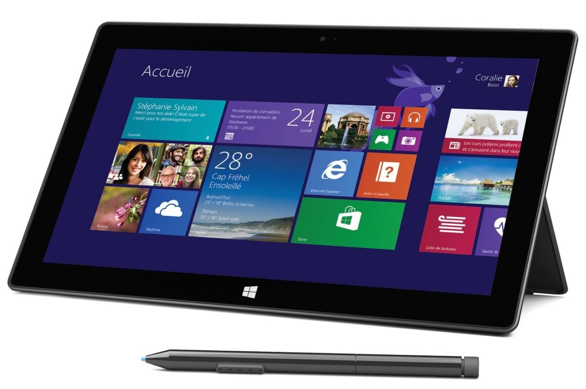 PC Hybride / PC 2 en 1 Microsoft Surface Pro 2 256 Go