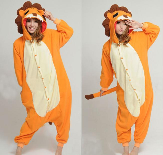 en un unisexes animaux Dors kigurumi cosplay costume des femmes pyjama