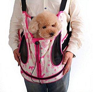 Sac de transport/ sac à dos/ sac ventral pour chien toy/ chiot/ chat