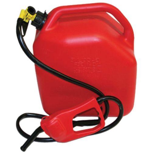 Jerrican carburant plastique 25 L avec pompe manuelle pas cher Achat