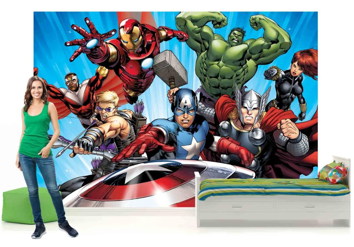 Marvel avengers afficher le titre d'origine
