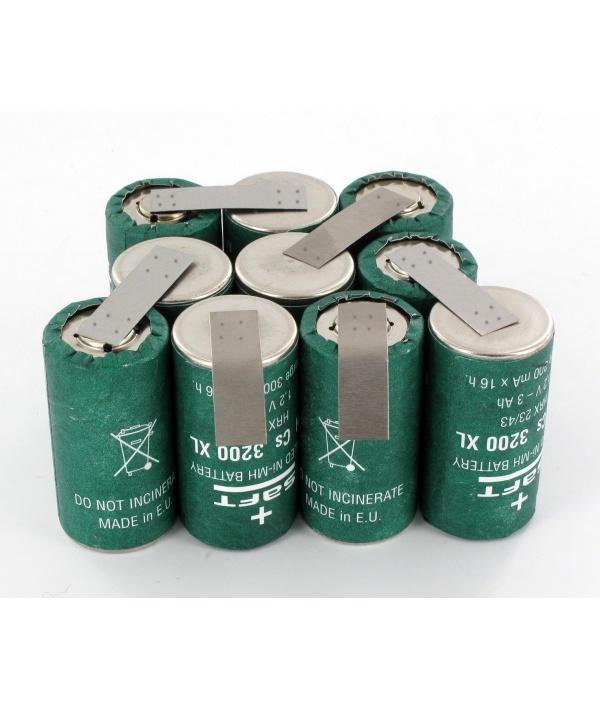 Batterie 12V pour Aspirateur DV1205N Black & Decker 3Ah