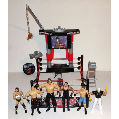 Catch Raw Wwe Lot De 6 Figurines Catcheurs Articulés