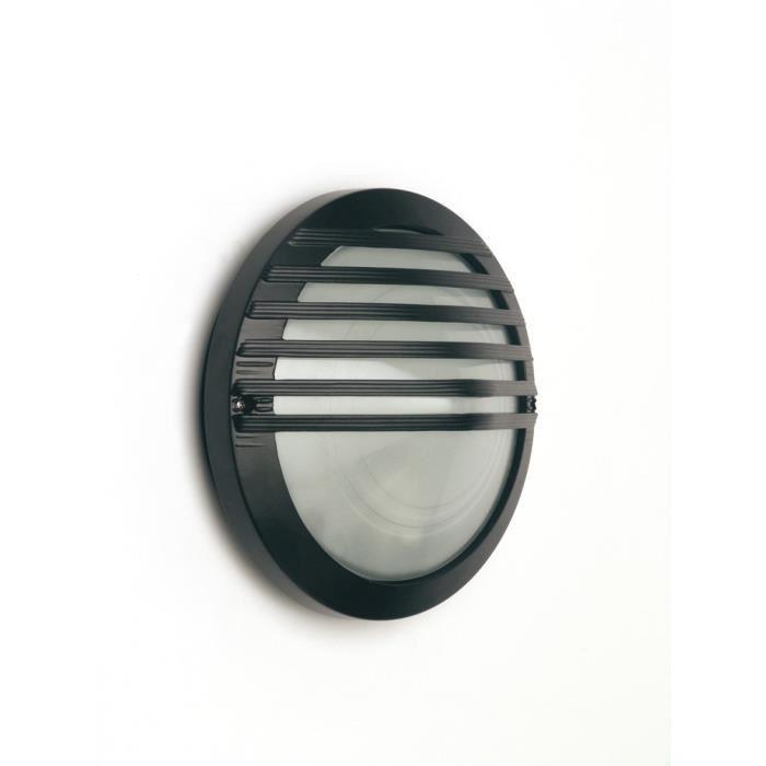 Applique murale extérieure noire Achat / Vente BRILLIANT Applique