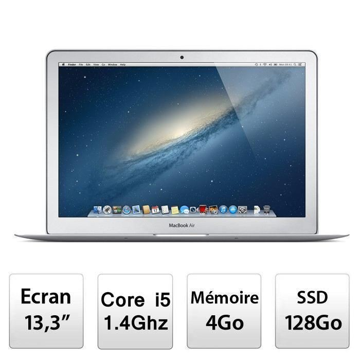 Apple MacBook Air 13,3″ MD760F/B Prix pas cher