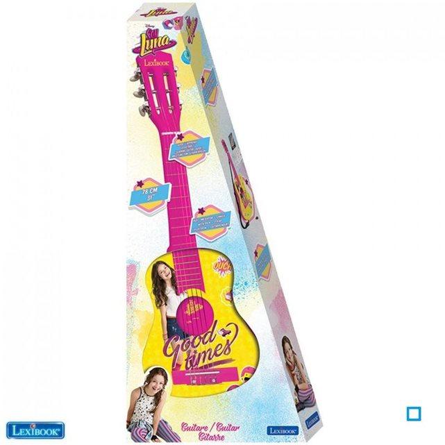 Soy luna guitare acoustique 78cm lexk2000sl 00 LEXIBOOK couleur