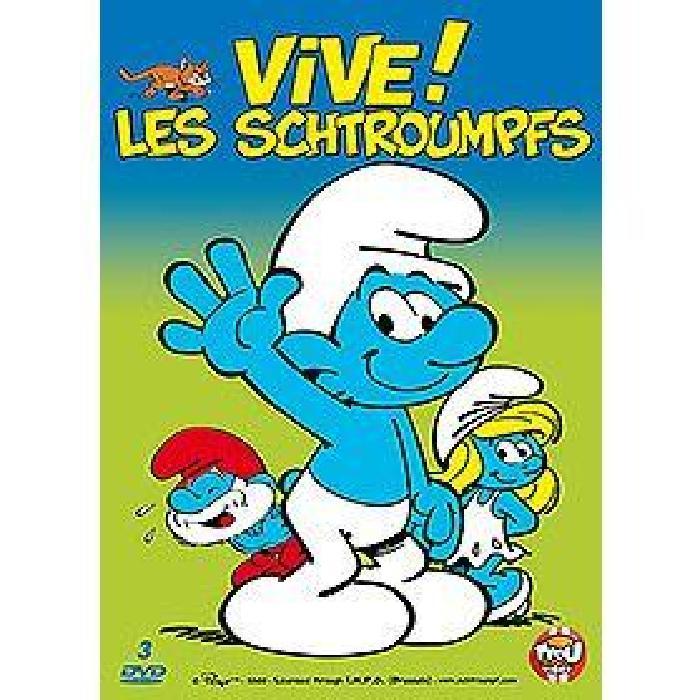 DVD Vive les schtroumpfs en dvd dessin animé pas cher Soldes