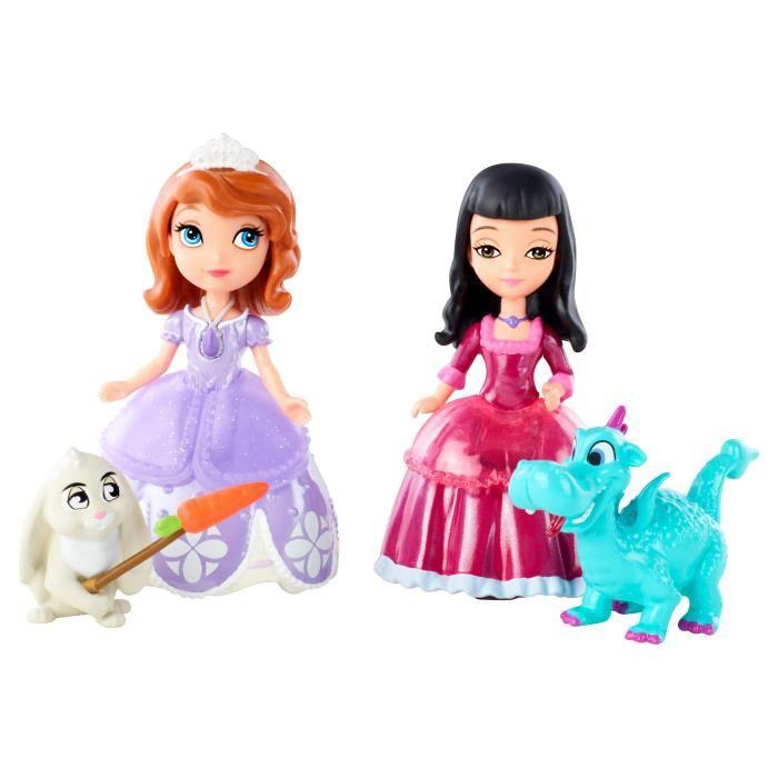 PRINCESSE SOFIA et Viviane & leurs animaux Achat / Vente figurine