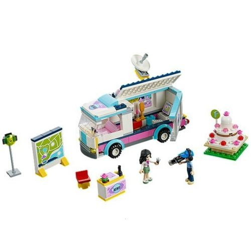 Lego Friends 41056 Jeu De Construction Le Camion Tv De Heartlake