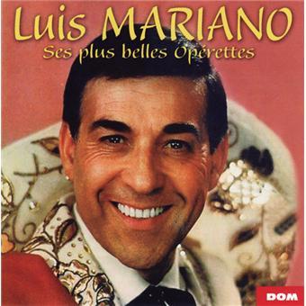 Luis Mariano Editeur DOM Disques Date de parution octobre 2012