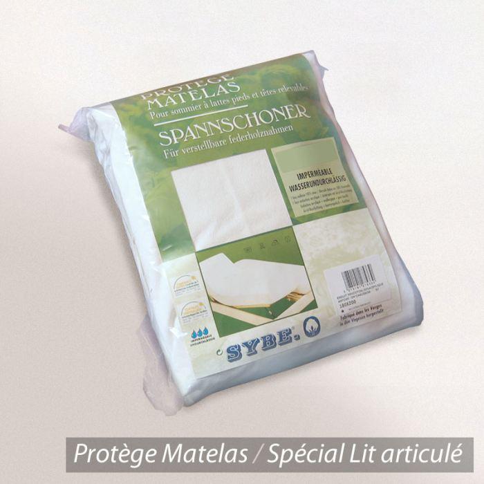Protège matelas imperméable Antony 2x70x200 Spécial lit articulé