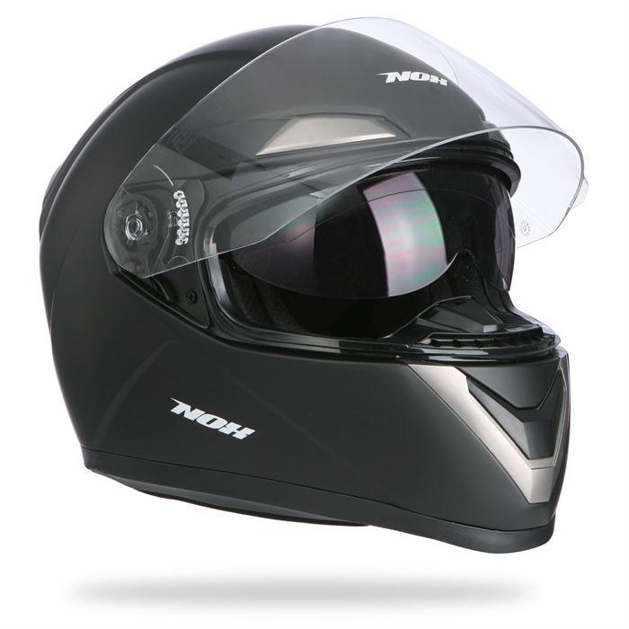 Casque Moto/Scooter N100 Noir mat Achat / Vente casque moto scooter