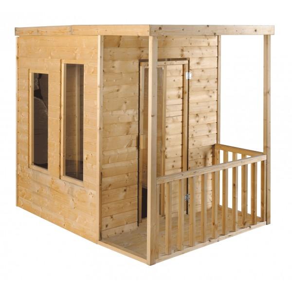 Maisonnette enfant en bois CALAO jardipolys