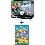 Wii U Pack Premium Mario Kart 8 + Yoshi's Woolly World WII U + 2 JEUX