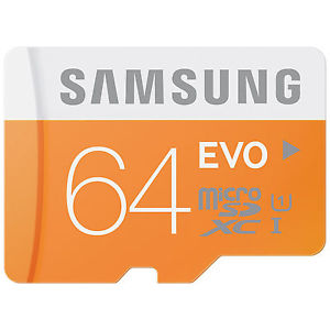 Transflash Micro SD 64Go Class 10 SDXC Carte Memoire 64 Go 64GB 64G