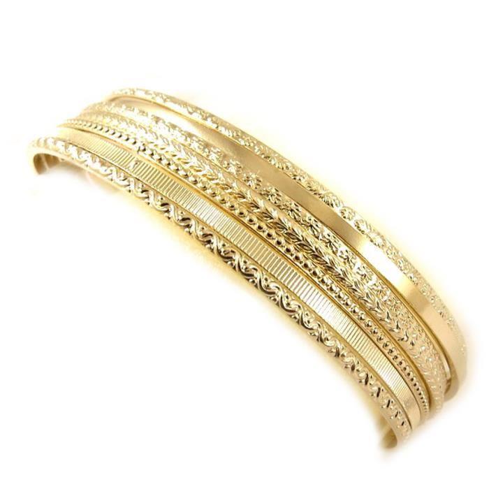 Bracelet plaqué or «Semainier» Achat / Vente bracelet gourmette