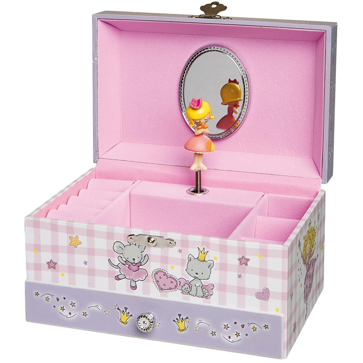 Boîte à bijoux musicale Princesse Parme Princesse de Trousselier