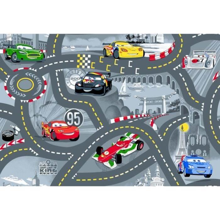 Tapis enfant Cars circuit de voiture Achat / Vente tapis