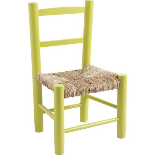 Aubry Gaspard Petite chaise bois pour enfant Anis pas cher Achat