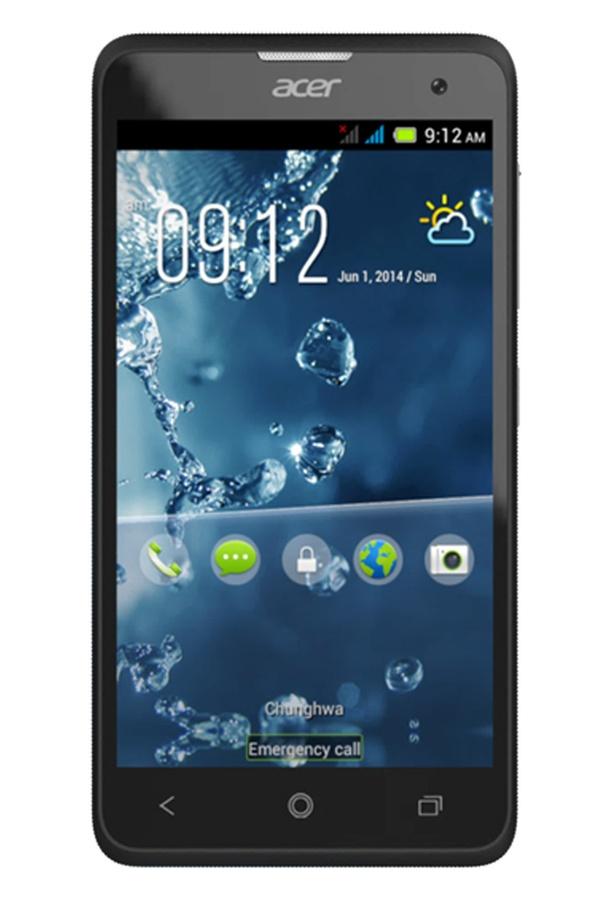 Le smartphone Acer Liquid Z220 se pare de belles dimensions pour une
