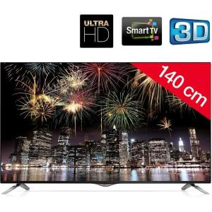 55UB830V Téléviseur LED 3D Smart TV Ultra HD + Support mural STILE