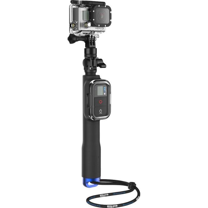 Perche pour caméra embarquée GoPro Longueur: entre 28 et 60 cm