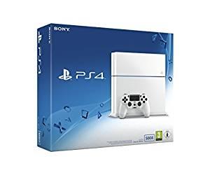 Console PS4 500 Go Blanche: Jeux vidéo