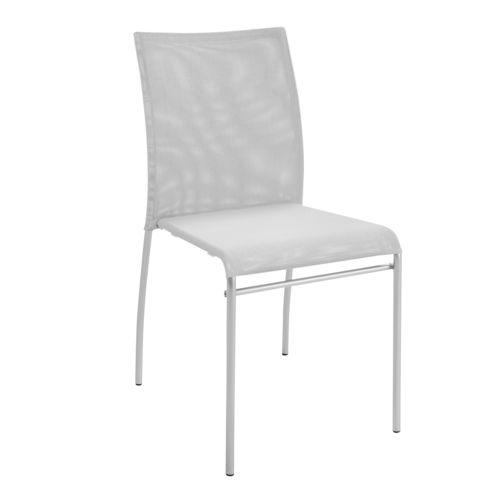 Alinéa Répetti Chaise avec assise en résille grise pas cher